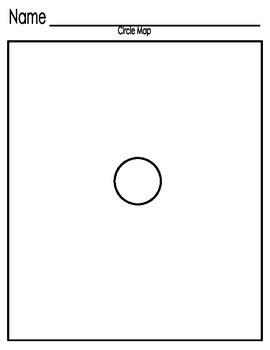 Blank Circle Map
