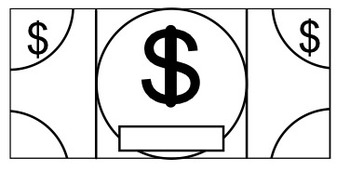 picture relating to Classroom Money Printable named Blank Clroom Economical Template