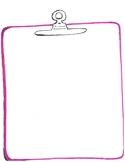 Blank Clipboard Note Taker