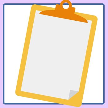 blank clipboard template clip art set for commercial use by hidesy s