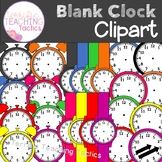 Blank Clock Clip Art Set (Telling Time)