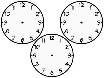 Blank Clocks