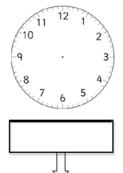 Blank Clocks Drawing Time Challenge Worksheet