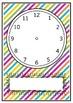 Blank Clocks For Teaching Time