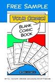 Blank Comic Book - Free Sample