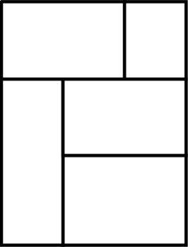 Blank Comic Book Template Pages Printables