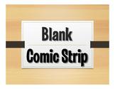 Blank Comic Strip