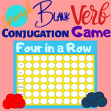 Blank Connect Four Game Spanish French German conjugation
