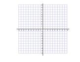 Blank Coordinate Grid