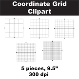 Blank Coordinate Grid Clipart - Free