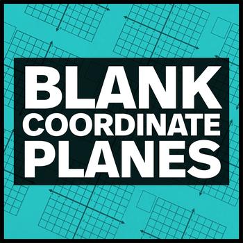 Blank Coordinate Planes