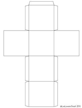 Blank Cube Template - Editable