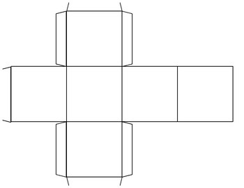 blank cube template for dice by phonics fun with the null set tpt