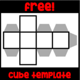 Free! Blank Dice/Cube Template