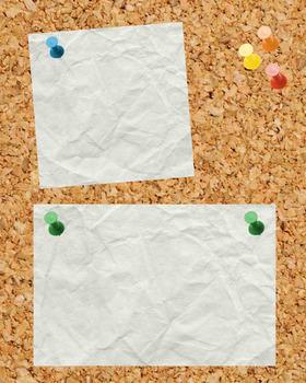 Blank Digital Corkboard