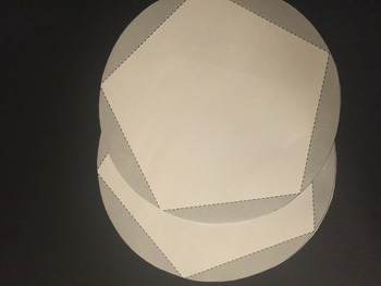 Blank Dodecahedron Project Template - Large, Medium, and Small