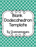 Blank Dodecahedron (Bloom Ball) Project Template - Large, Medium, and Small