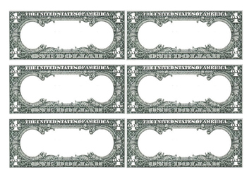 blank dollar bill flashcards template by spokes and speech