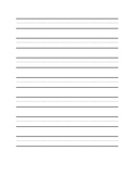 Blank Dotted Lines Worksheets