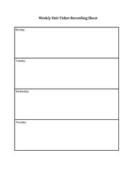 Blank ELA Workstation Chart