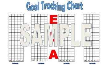 Blank Editable  Data Tracking Charts