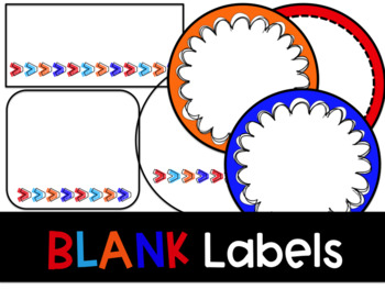 Blank Editable Labels