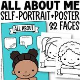 Blank Face Self-Portraits