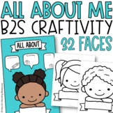 Blank Face Self-Portraits