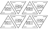 Blank Fact Triangles