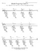 Band Blank Fingering Chart #1
