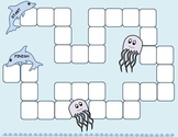 Blank Fish Themed Game Boards