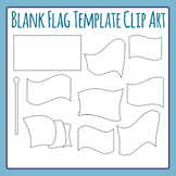 Blank Flag Template - Design a Flag Commercial Use Clip Art Pack