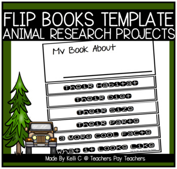 Blank Flip Books ~ Writing For Information Using Graphic O