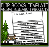 Flip Book Template for Information Writing