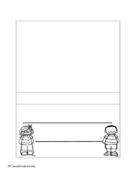 Blank Flip Flap Book for an subject area
