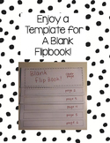 Blank Flipbook Template