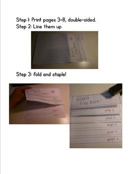 Blank Flipbook Template