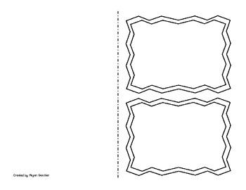 Blank Foldables