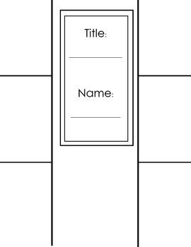 Blank Foldables / Flap Books
