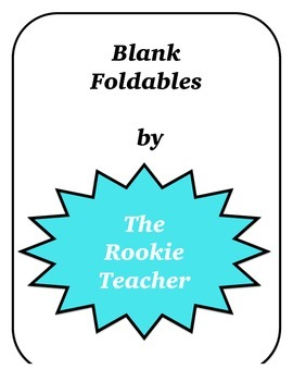 Blank Foldables