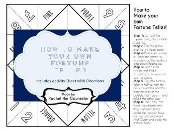 Blank Fortune Teller