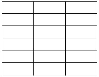 Blank Fraction Number Bar Templates (up to 16ths)