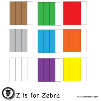 Blank Fraction Square Clip Art 644 Images - Vertical - CU OK! ZisforZebra