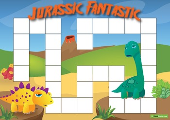 Blank Game Board – Jurassic Fantastic