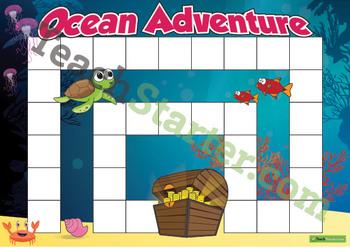 Blank Game Board – Ocean Adventure