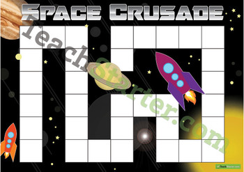 Blank Game Board – Space Crusade