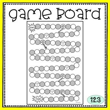 Blank Game Board {freebie!}