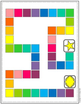 {FREEBIE} Blank Game Boards in Color