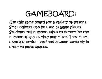 Blank Gameboard