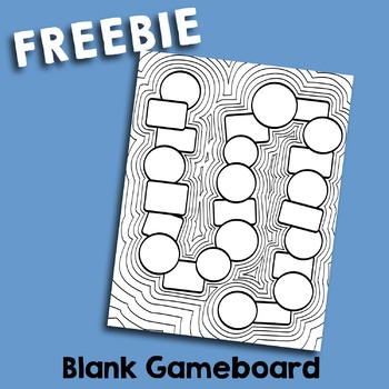 Blank Gameboard Freebie